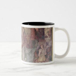 The Royal Elephant Two-Tone Coffee Mug