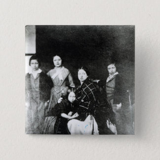 The Royal Family 15 Cm Square Badge