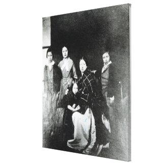The Royal Family Canvas Print