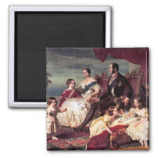 The Royal Family Square Magnet