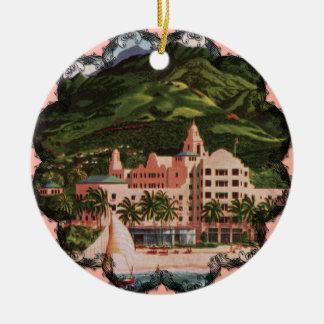 The Royal Hawaiian Hotel Christmas Ornament