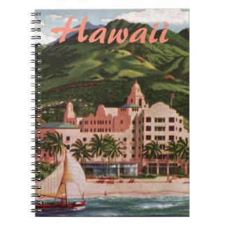 The Royal Hawaiian Hotel Custom Notebook