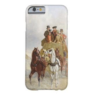 The Royal Mail Coach on the Road, 1841 (oil on pan Barely There iPhone 6 Case