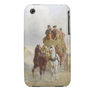 The Royal Mail Coach on the Road, 1841 (oil on pan iPhone 3 Covers