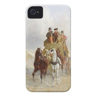 The Royal Mail Coach on the Road, 1841 (oil on pan iPhone 4 Cases