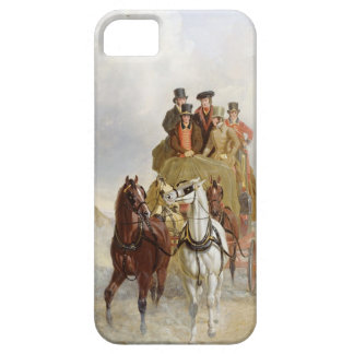The Royal Mail Coach on the Road, 1841 (oil on pan iPhone 5 Cover