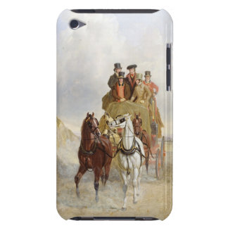 The Royal Mail Coach on the Road, 1841 (oil on pan iPod Case-Mate Cases