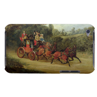The Royal Mail Coach with Passengers (oil on canva iPod Touch Case-Mate Case