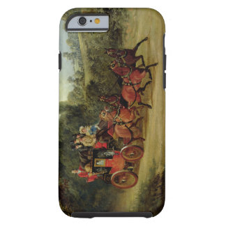 The Royal Mail Coach with Passengers (oil on canva Tough iPhone 6 Case