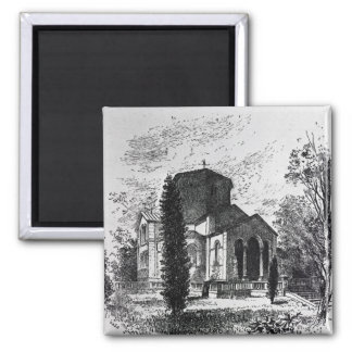 The Royal Mausoleum, Frogmore Square Magnet