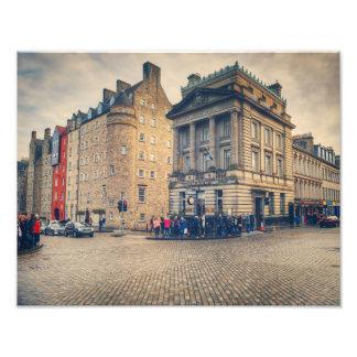 The Royal Mile Photo Print