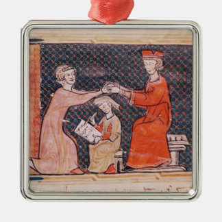 The Royal Prosecutor, the Scribe Christmas Ornament