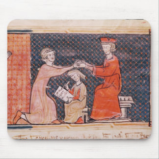 The Royal Prosecutor, the Scribe Mouse Mat