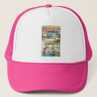 the royal route to broadland trucker hat
