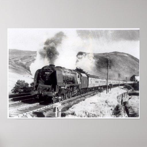 The Royal Scot, intercity locomotive Print