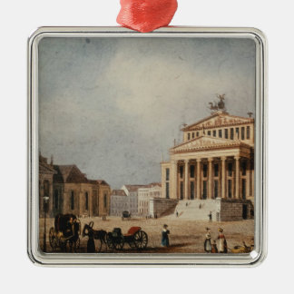 The Royal Theatre and the New Church, 1833 Christmas Ornament