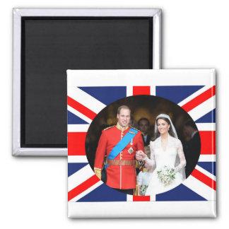 The Royal Wedding 11 Fridge Magnets