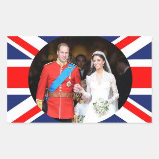 The Royal Wedding 11 Rectangular Sticker