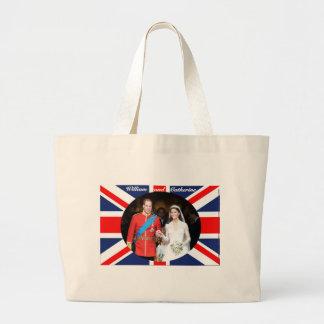 The Royal Wedding 14 Large Tote Bag