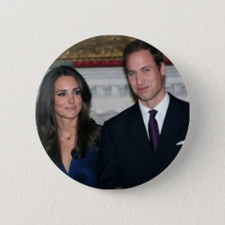 The Royal Wedding 6 Cm Round Badge