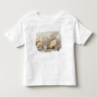 The Royal Yacht 'Mary' Exchanging Salutes Toddler T-Shirt
