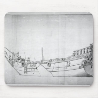 The Royal Yacht 'Mary' Mouse Mat