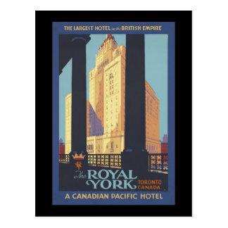The Royal York Toronto Canada Postcard