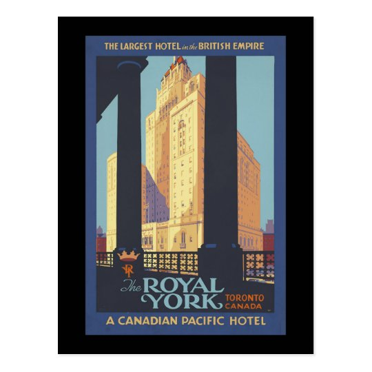 The Royal York Toronto Canada Postcard