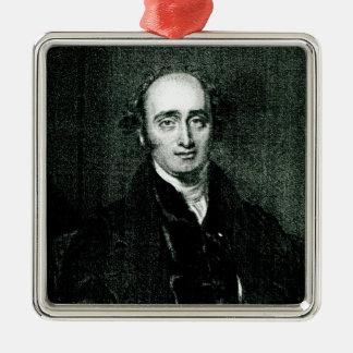 The Rt.Hon.John Wilson Croker Silver-Colored Square Decoration