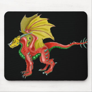 The Ruby Dragon Mouse Pad