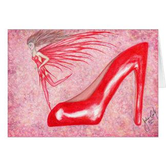 The Ruby Slipper - Greeting Card