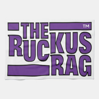The Ruckus Rag #1a Tea Towel