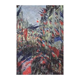 The Rue Saint-Denis Canvas Print