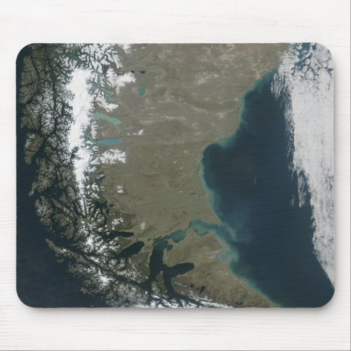 The rugged, snow-capped Andes Mouse Pads