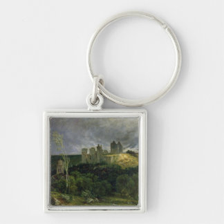The Ruins of Chateau de Pierrefonds, 1861 Key Ring