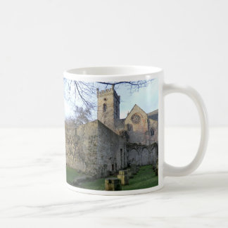 The Ruins of Culross Abbey in Fife Basic White Mug