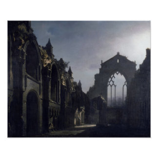 The Ruins of Holyrood Chapel Poster