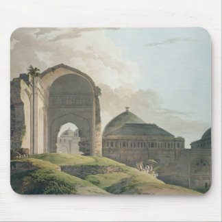 The Ruins of the Palace at Madurai, 1798 Mouse Mat