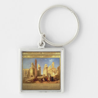 The Ruins of the Palace of Karnak at Thebes Keychain