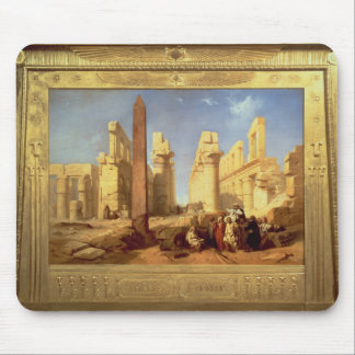 The Ruins of the Palace of Karnak at Thebes Mouse Mat