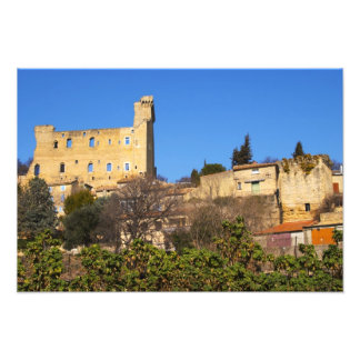 The ruins of the Pope s summer castle in Photo Art