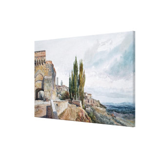 The Ruins of the Roman Theatre Canvas Print