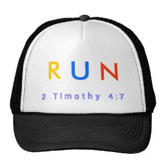 The RUN ballcap Trucker Hat