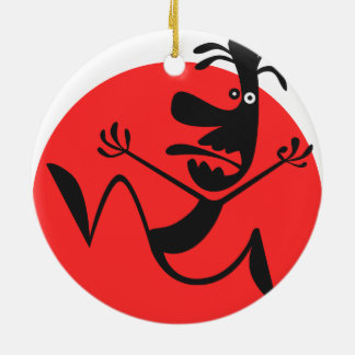 The Running Man Christmas Tree Ornaments