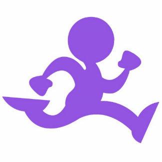 The Running Man Photo Sculpture Decoration