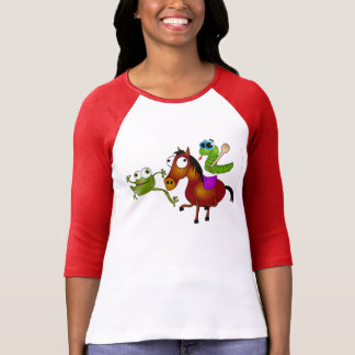 The Running Snake (Ide Zmija) 03 T-Shirt