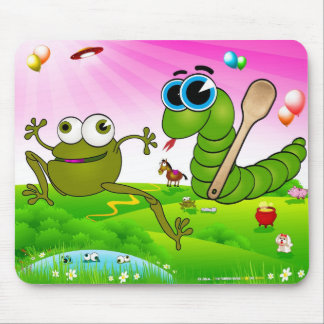The Running Snake (Ide Zmija) Mouse Pad