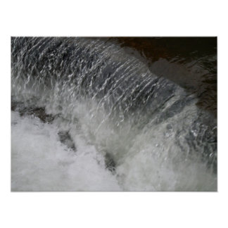THE RUSHING WATER poster