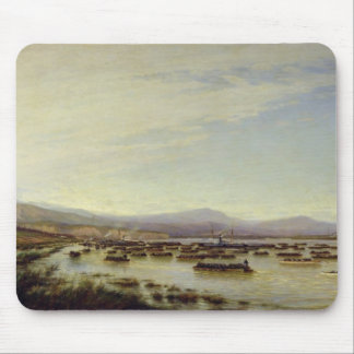 The Russian Army crossing the Danube Mouse Mat