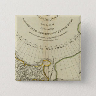 The Russian Discoveries 15 Cm Square Badge